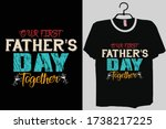 daddy and me shirts  father son ... | Shutterstock .eps vector #1738217225