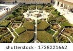 The Sheesh Mahal Garden At Ame...