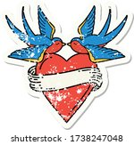 distressed sticker tattoo in... | Shutterstock .eps vector #1738247048