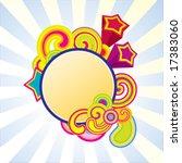 candy frame | Shutterstock .eps vector #17383060