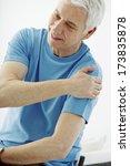 shoulder pain in an elderly p.   Shutterstock . vector #173835878