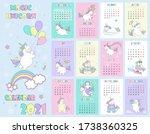 vector illustration child... | Shutterstock .eps vector #1738360325