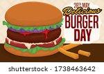Delicious Classic Hamburger...