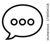 chat   dialogue box   message   ...