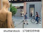 seville  spain  may 22  2020 ...   Shutterstock . vector #1738535948