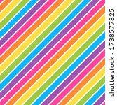 stripes seamless pattern  ... | Shutterstock . vector #1738577825
