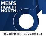 men s health month. holiday... | Shutterstock .eps vector #1738589675