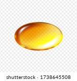 Gold Fish Oil Oval Pill....