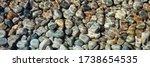Pebble Stones Are Lying Under...