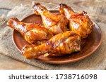 Grilled Chicken Drumsticks On ...