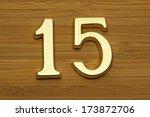 Number Fifteen  House Address...