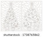 contour illustrations of a... | Shutterstock .eps vector #1738765862