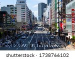Crowded Area Around Umeda...
