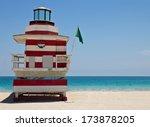 South Beach Lifeguard Hut In...
