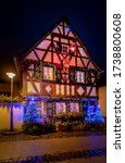 great decorated house at christmas time with great lighting