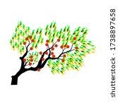 vector illustration of a tree....