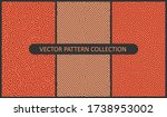set of vector patterns in flat...   Shutterstock .eps vector #1738953002