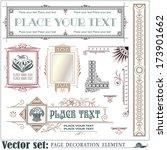 template for business  envelope ...   Shutterstock .eps vector #173901662