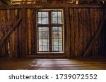 Old Wooden Window  View From...