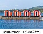 Typical Swedish West Coastal...