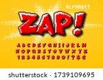 pixel vector alphabet design ... | Shutterstock .eps vector #1739109695