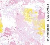 worn texture splatter surface.... | Shutterstock .eps vector #1739309585