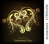 happy valentines day... | Shutterstock .eps vector #173931356