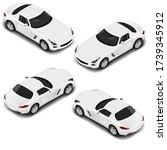 vector isometric car in four...   Shutterstock .eps vector #1739345912