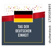 germany unity day design for... | Shutterstock .eps vector #1739359895