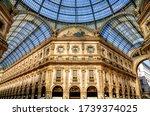 Galleria Vittorio Emanuele II is Italy