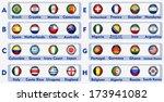soccer tournament   Shutterstock .eps vector #173941082