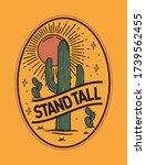 desert theme vector artwork for ... | Shutterstock .eps vector #1739562455