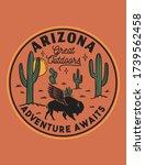 desert theme vector artwork for ... | Shutterstock .eps vector #1739562458