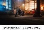 Custom bobber motorbike...