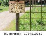 Handmade Wooden Sign In Italia...