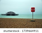 The Burnt Down Brighton Pier O...