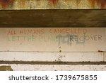 Graffiti Adornes A Semi...