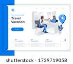 travel vacation isometric... | Shutterstock .eps vector #1739719058