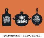 home cooking typography vector... | Shutterstock .eps vector #1739768768