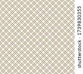 seamless simple gold geometric... | Shutterstock .eps vector #1739830355
