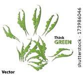 vector concept or conceptual... | Shutterstock .eps vector #173986046