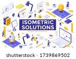 project development set  ...   Shutterstock .eps vector #1739869502