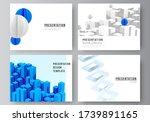 vector layout of presentation... | Shutterstock .eps vector #1739891165