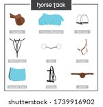 Illustration Of Horse Harness....