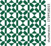 rhombuses  diamonds  squares ... | Shutterstock .eps vector #1739918015