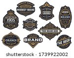 set of logos  labels and... | Shutterstock .eps vector #1739922002
