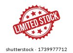 Limited Stock Rubber Stamp. Red ...