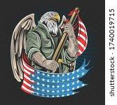 Eagle America Usa Army Soldier...