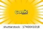 retro comic background halftone ...   Shutterstock .eps vector #1740041018