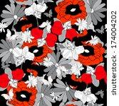 floral design | Shutterstock .eps vector #174004202